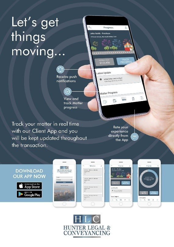 Hunter Legal and Conveyancing App